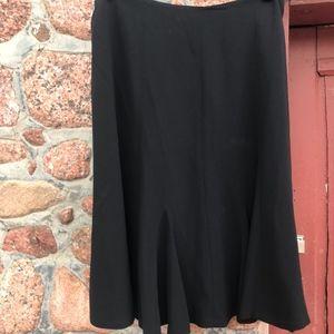 Jones New York Collection Petite Black Skirt Size